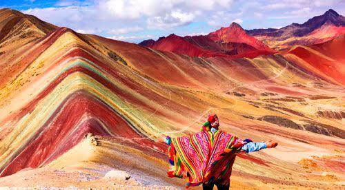 Montañña de Siete Colores - Cusco - Cinco destinos increíbles para luna de miel en el sur del Perú