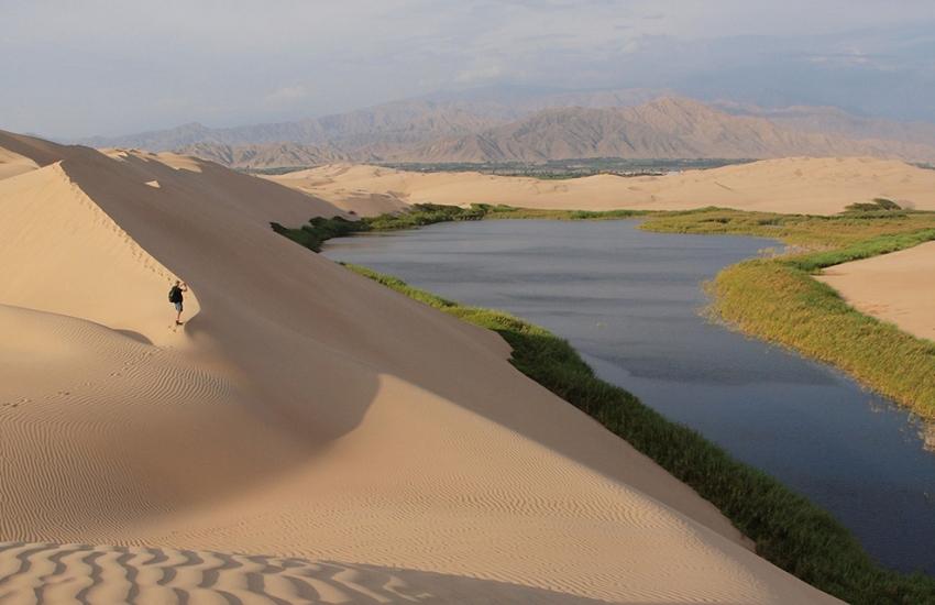 Laguna de Morón - Ica - Cinco destinos increíbles para luna de miel en el sur del Perú
