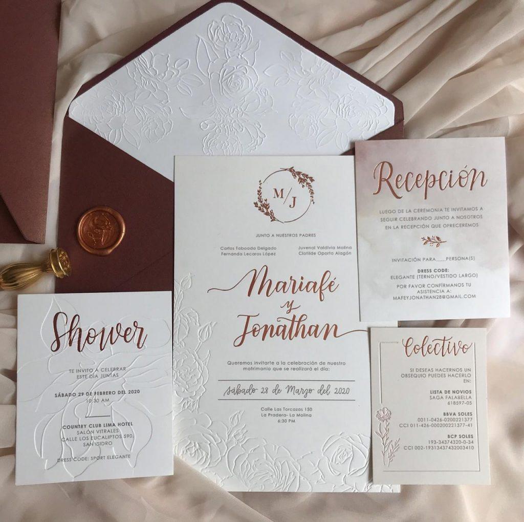¿Cómo se invita? - ¿Qué es el Bridal Shower? - El blog de Su