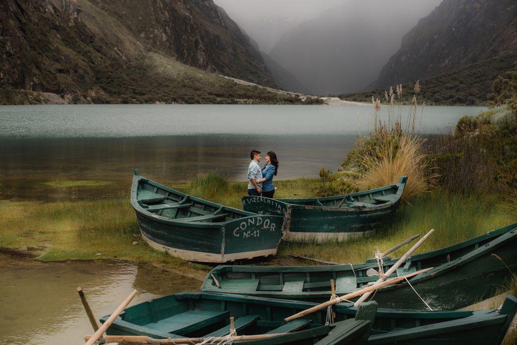 Laguna de LLanganuco - Huaraz - Destinos increíbles para luna de miel y sesiones de fotos en Ancash - El blog de Su - Susana Morales Wedding & Event Planner