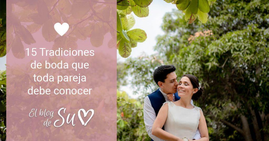 15 Tradiciones de boda que toda pareja debe conocer