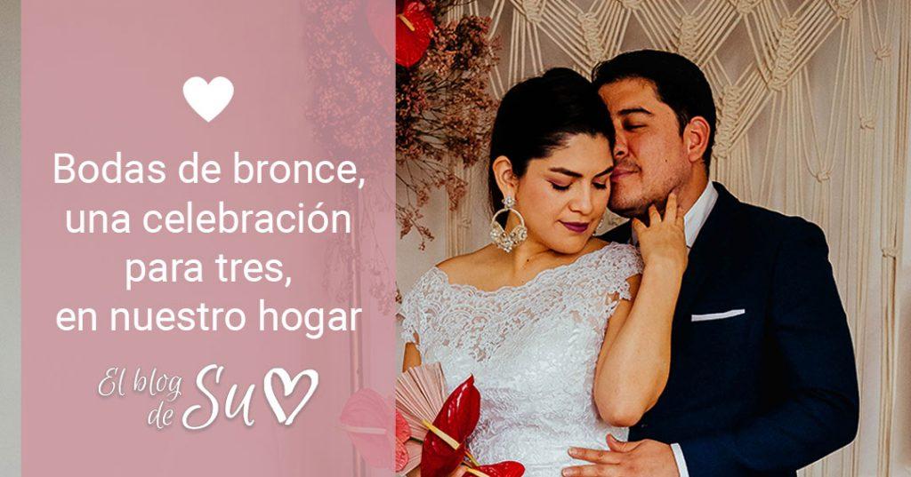 Bodas de bronce, una celebración para tres, en nuestro hogar - El blog de Su - Susana Morales Wedding & Event Planner
